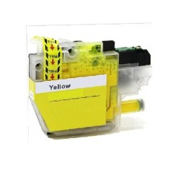 CARTOUCHE D'ENCRE JAUNE Type BROTHER LC3217/LC3219xlY