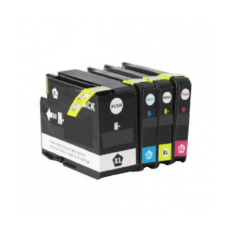 ECOPACK 4 CARTOUCHES D'ENCRE Type HP 932/933xl BCYM