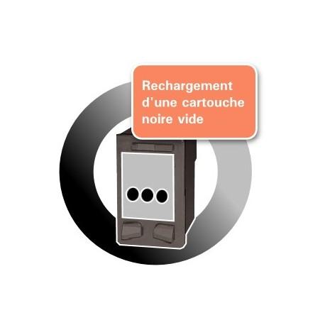 RECHARGEMENT d'une CARTOUCHE D'ENCRE Type HP 21XL/C9351A