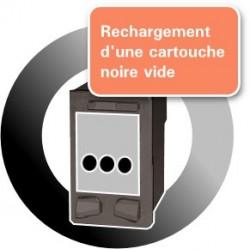 RECHARGEMENT d'une CARTOUCHE D'ENCRE Type HP 27/C8727A