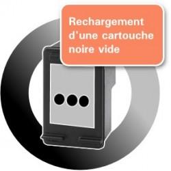 RECHARGEMENT d'une CARTOUCHE D'ENCRE Type HP 300xl noir/CC641E