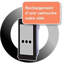 RECHARGEMENT d'une CARTOUCHE D'ENCRE Type HP 350xl/CB336E