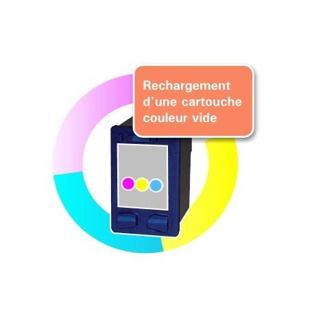 RECHARGEMENT d'une CARTOUCHE D'ENCRE Type HP 57/C6657A