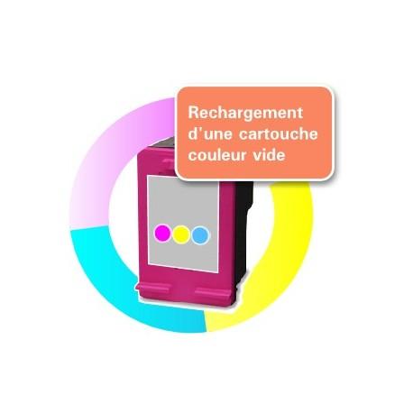 RECHARGEMENT d'une CARTOUCHE D'ENCRE Type HP 301xl Col/CH564E