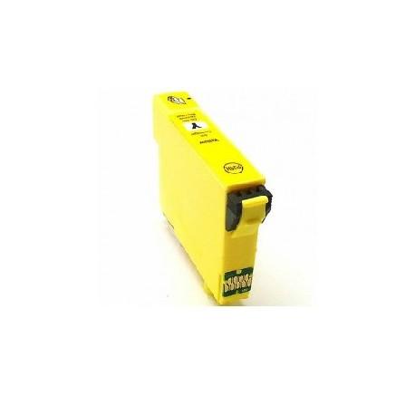 CARTOUCHE D'ENCRE JAUNE Type EPSON T1004/C13T10044010