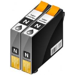 PACK 2 CARTOUCHES D'ENCRE NOIRE Type EPSON T0611/T061140