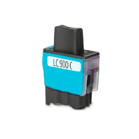 CARTOUCHE D'ENCRE CYAN Type BROTHER LC900C